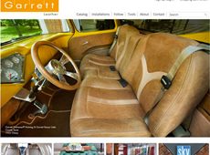 Garrett Leather | Website