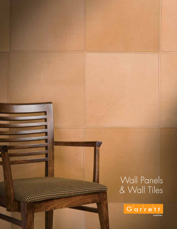 Garrett Leather | Wall Panel Brochure
