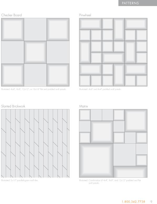 Garrett Leather   Wall Panel Brochure