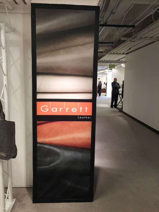 Garrett Leather | NeoCon 2015