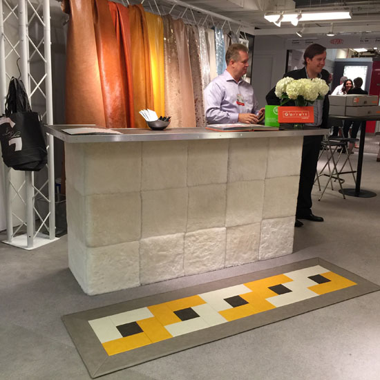 Garrett Leather | NeoCon 2015