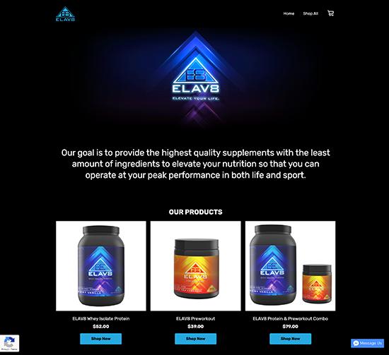 ELAV8 Labs Website
